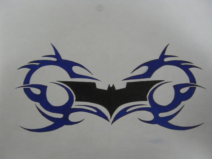 batman tribal by cr4zy chr1s on deviantart. Black Bedroom Furniture Sets. Home Design Ideas