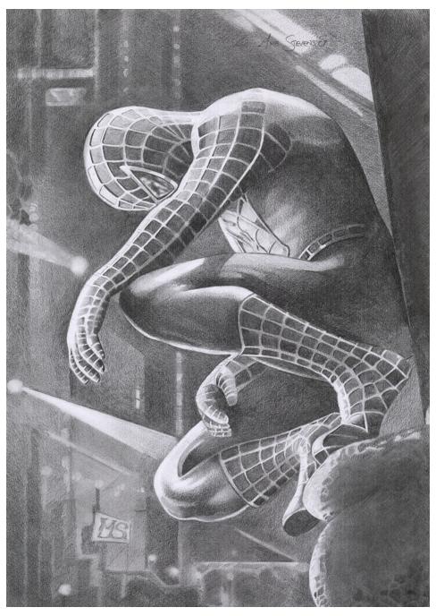 Spiderman by Sparkmachine