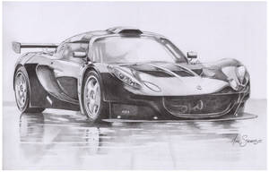 Lotus car study by Sparkmachine
