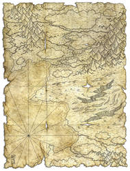 Another antique map by Hattam Reyes, Scrivener ... by Thomas-Rey