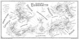 The known lands of Eoberath