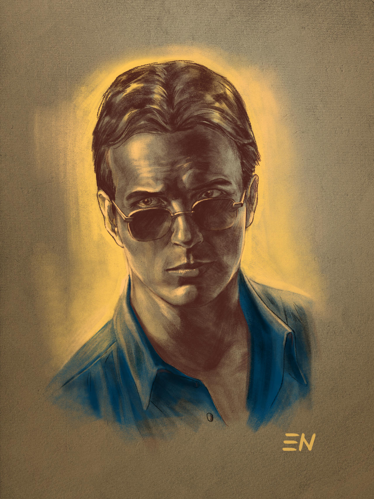 Linden Ashby As Johnny Cage By Arch2626 On Deviantart