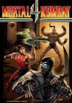 MORTAL KOMBAT 4 #3 comic cover