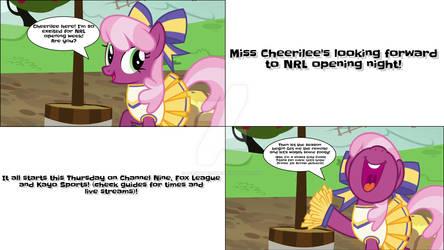 Cheerliee wants her footy!