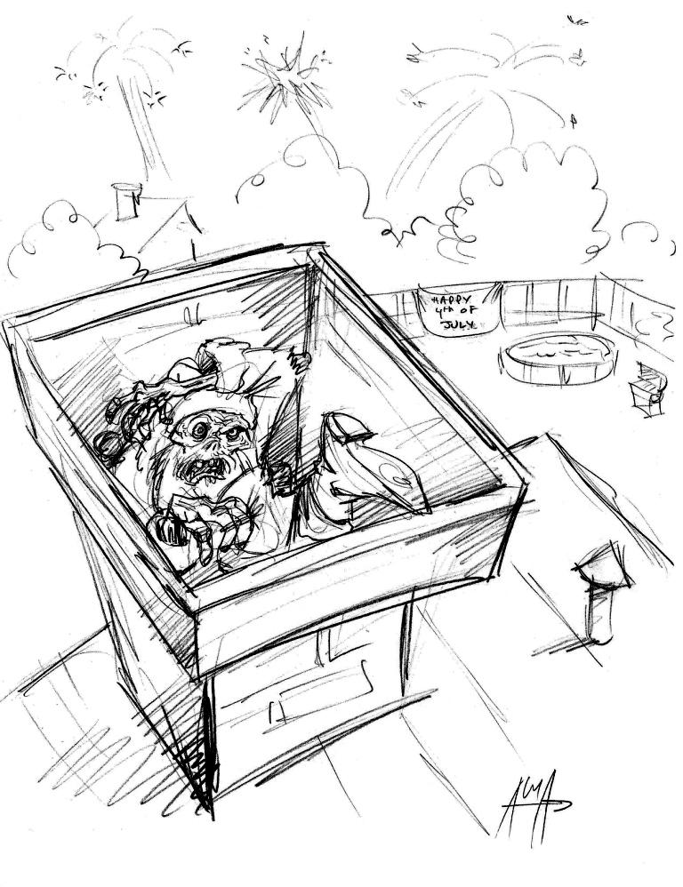 December 19th 2012 - Quick Draw - SPOTLIGHT by Dare2Draw
