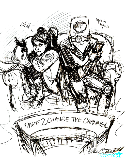 March 21st, 2013 - Quick Draw - SPOTLIGHT by Dare2Draw