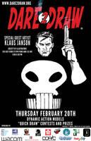 Dare2Draw w/ Klaus Janson 2/20/14_Punisher by Dare2Draw