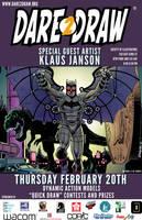 Dare2Draw w/ Klaus Janson 2/20/14_SteamPunk Batman by Dare2Draw