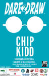 Dare2Draw With Chip KIDD August 14th