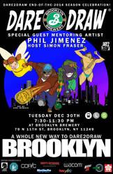 Dare2Draw Comes to Brooklyn!