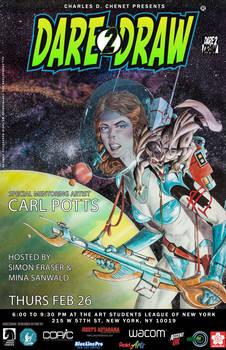 Dare2Draw with Carl Potts FEB26
