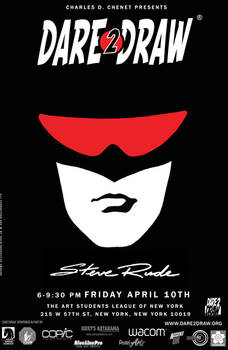 Dare2Draw with Steve Rude the Dude!
