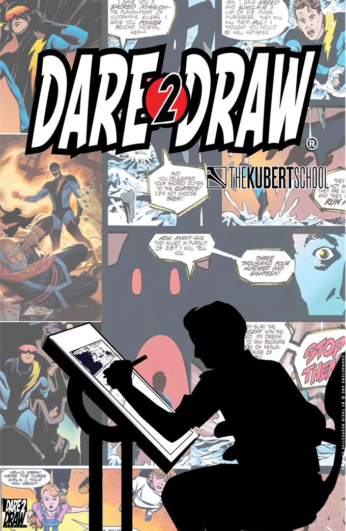 Dare2Draw and The Kubert School by Dare2Draw