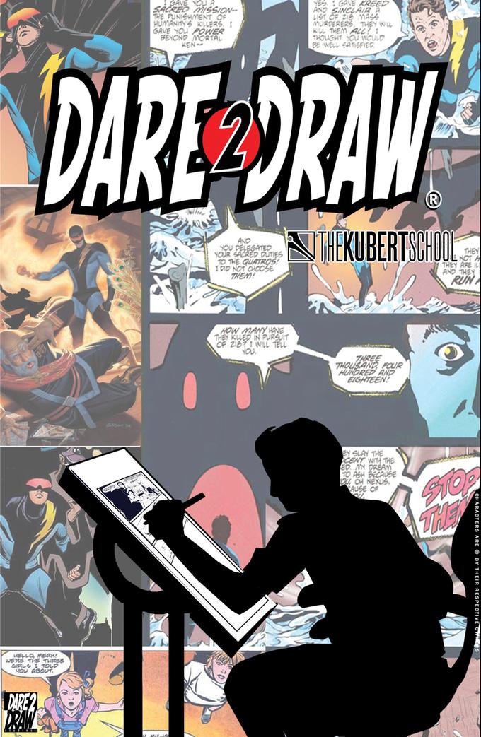 Dare2Draw and The Kubert School by Dare2Draw