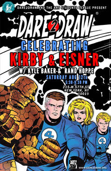 Dare2Draw w/Kyle Baker and Rand Hoppe!