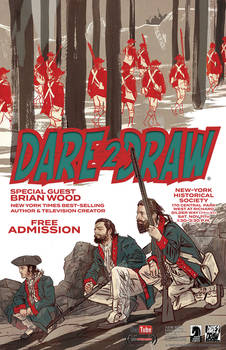 Dare2Draw with Brian Wood @ the  N-YHS