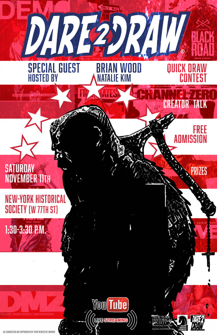 Dare2Draw with Brian Wood 11/11_TOMAHAWK by Dare2Draw