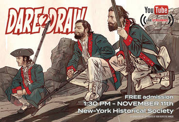 Dare2Draw with Brian Wood 11/11 Veterans Day FREE