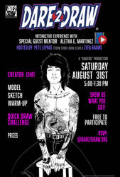 Come Dare2Draw with Aletha E. Martinez
