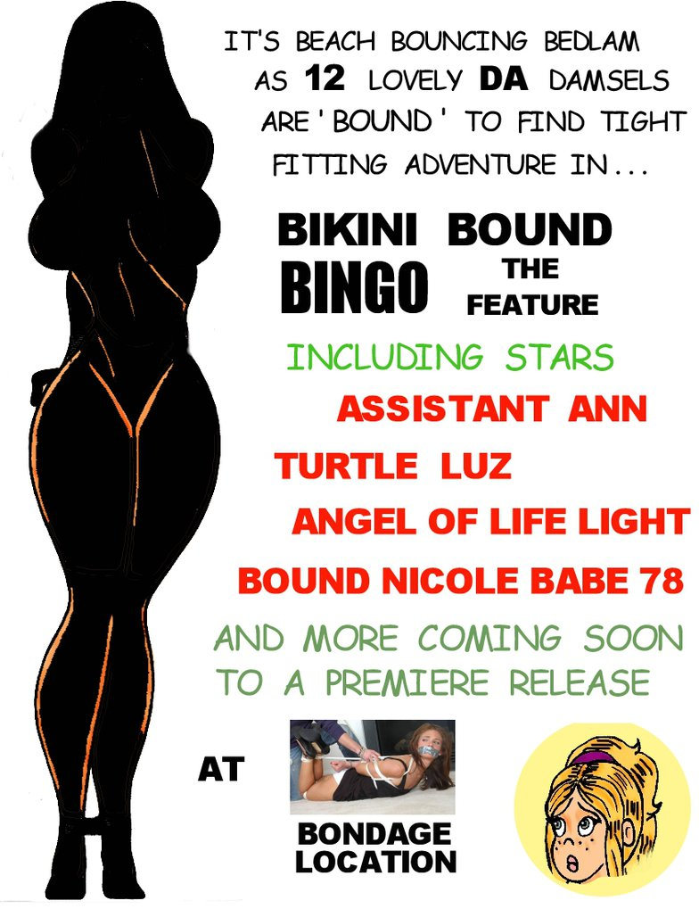 Bikini Bound Bingo The Feature by Angeloflifelight
