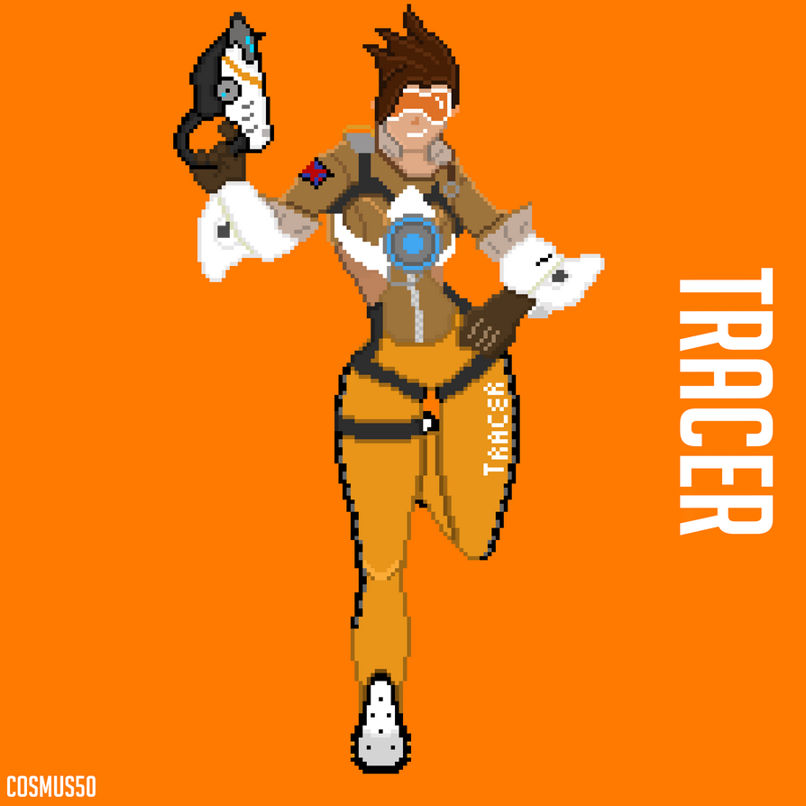Tracer PixelArt by Cosmus50