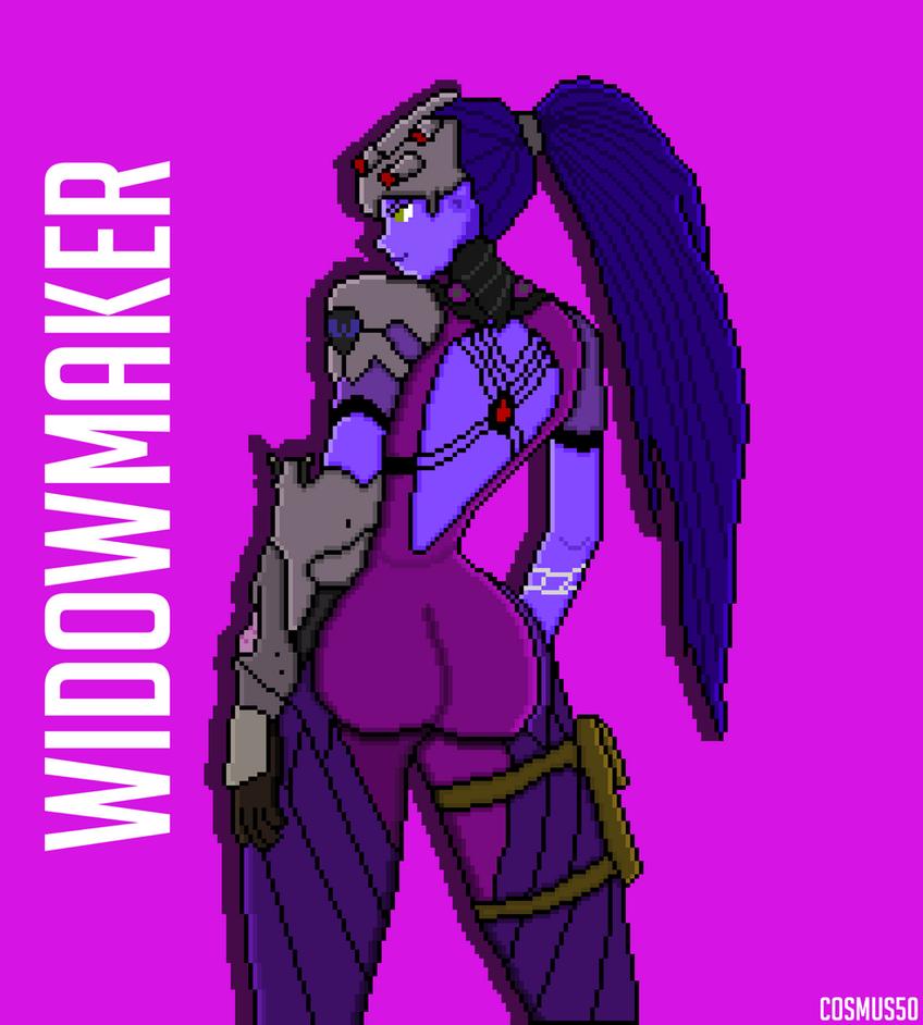 Widowmaker PixelArt by Cosmus50