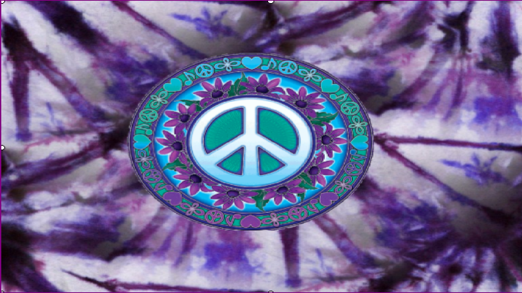 Purple Tie Dye Peace Sign for PC BG by Yinlizzy on DeviantArt