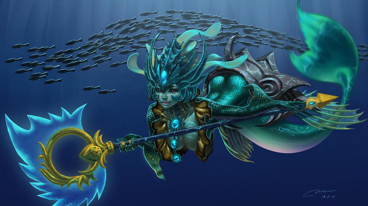 league of Legends - Nami by MoulkandHaemin