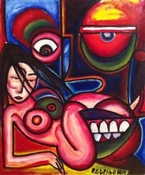 Woman Face by RodrigoFigueredo