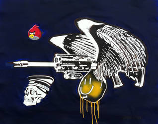 Long Bird Of Prey Blue by RodrigoFigueredo