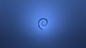 Debian Wallpaper ~ Tornado Style