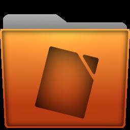 Folder Documents Icon by Kryuko