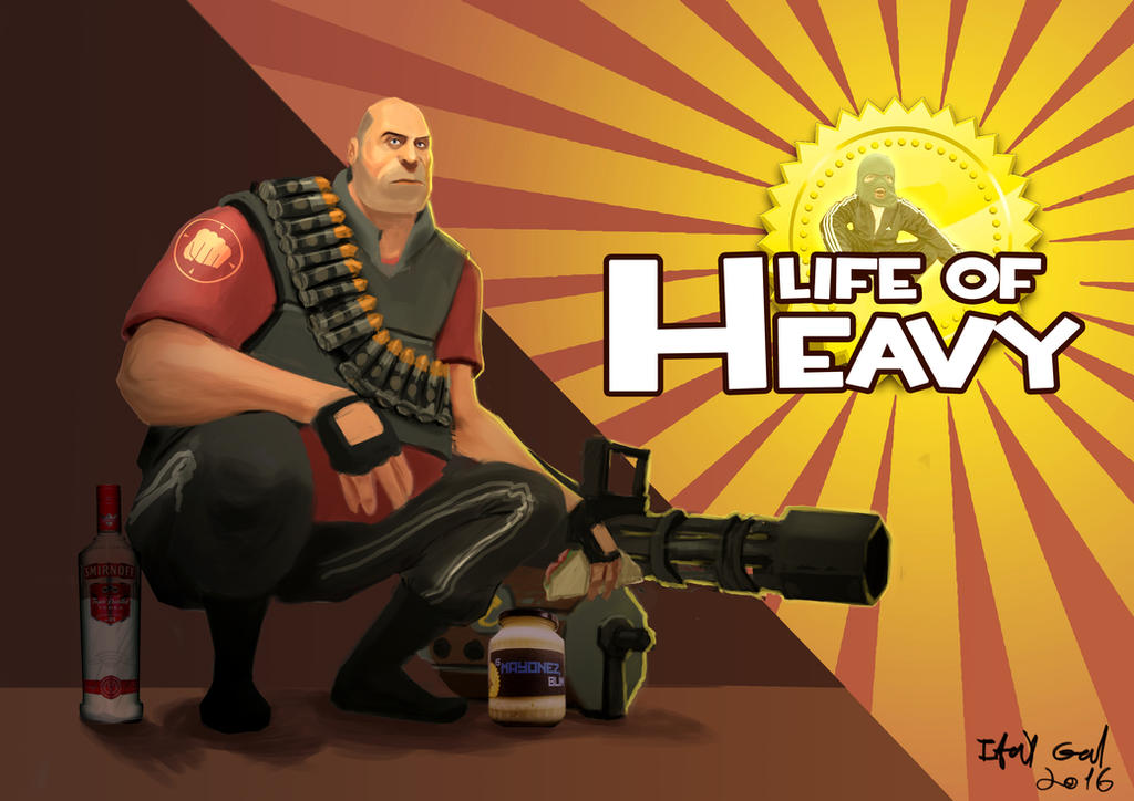 Life Of Heavy by capoeirabonia