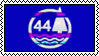44 Stamp by aroace-pirate