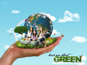 keep our planet green