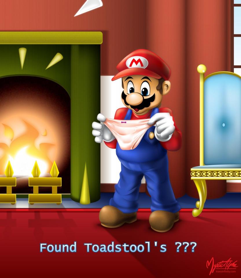 Mario found ??? by mysticalpha