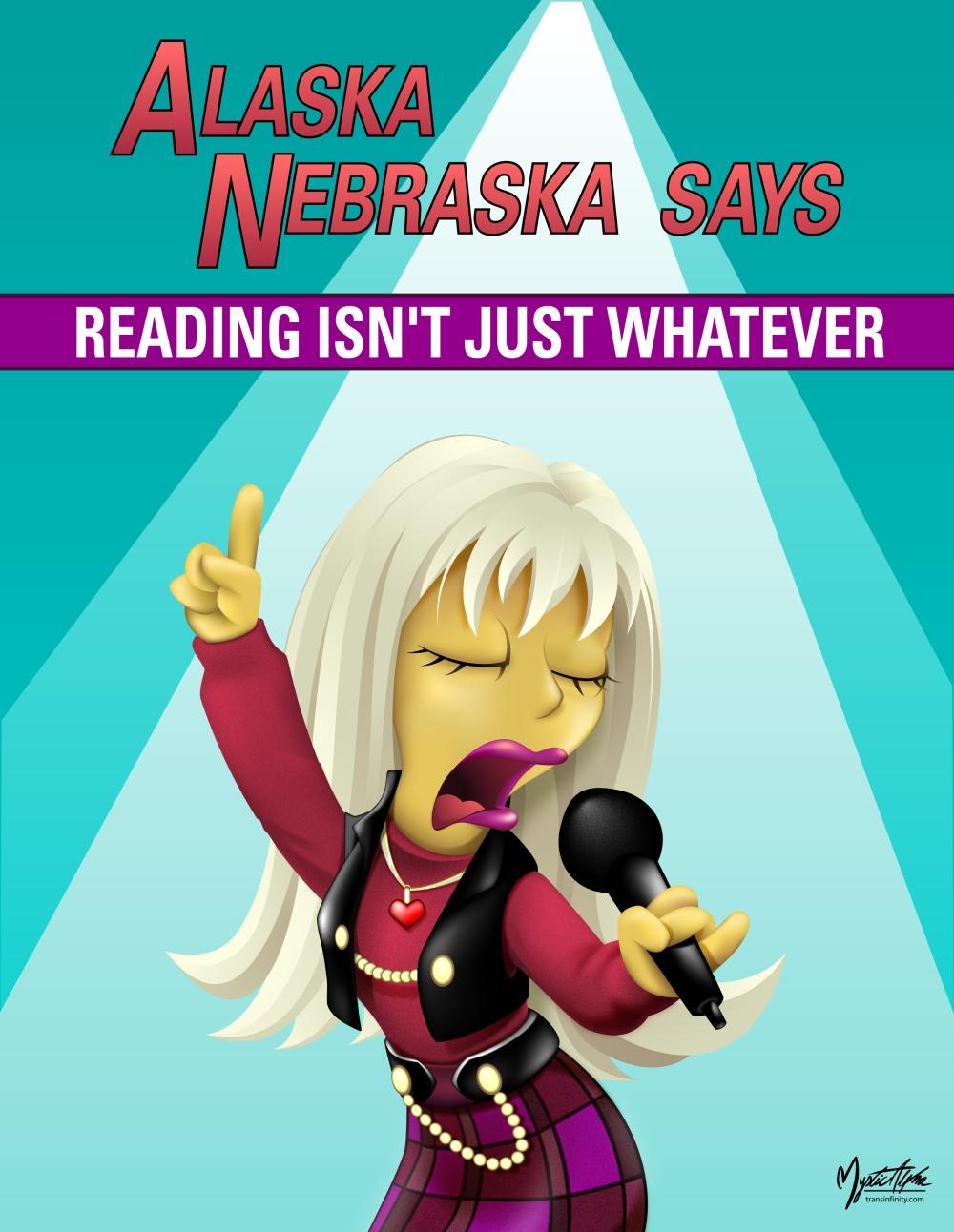Alaska Nebraska Poster by mysticalpha