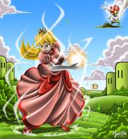 Fireball Peach by mysticalpha