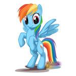 Rainbow Dash Stand