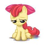 Sad Apple Bloom 2