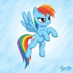 Rainbow Dash Flying 02