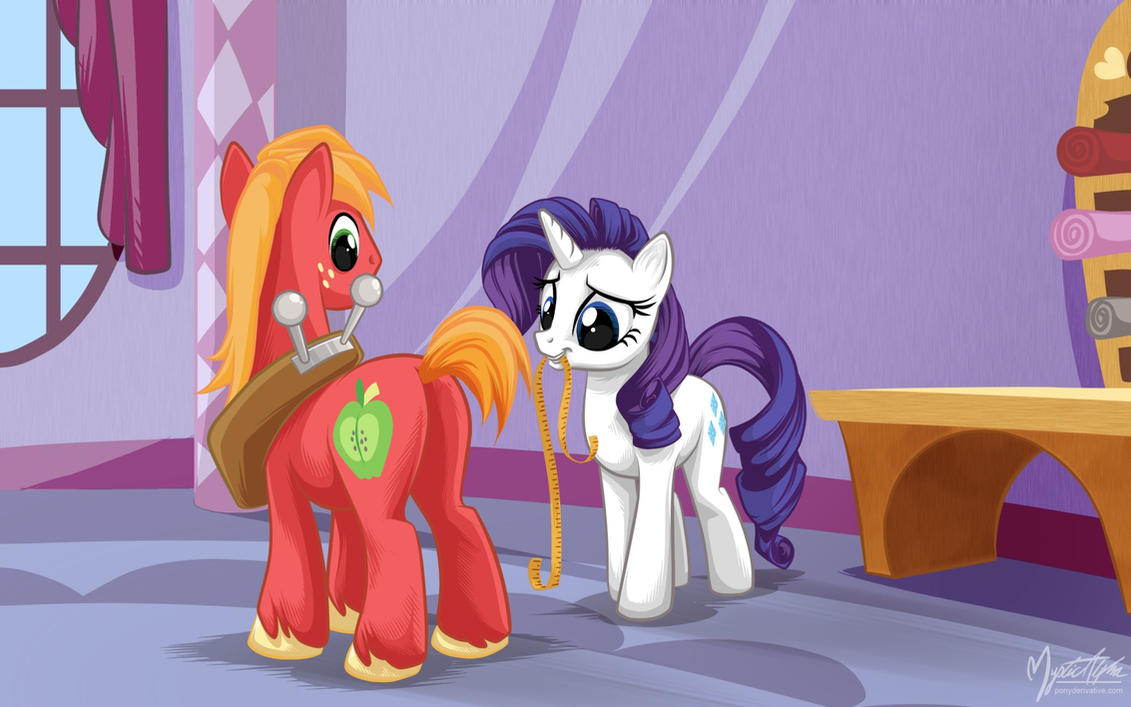 Rarity Pony R34 Rarity   Big Macintosh by