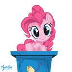 Pinkie Pie at Podium