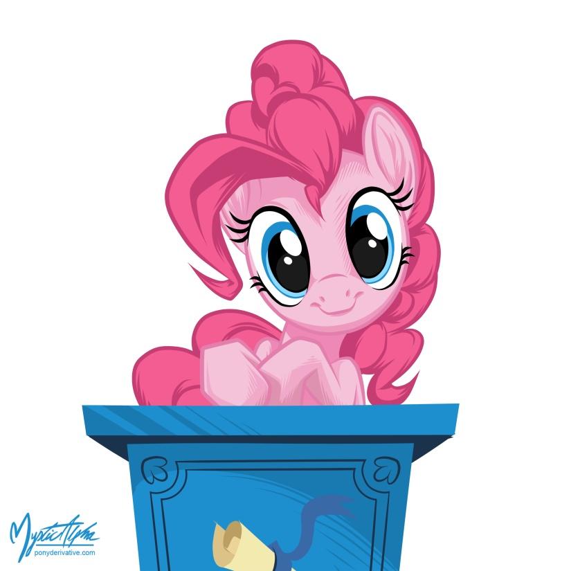 Your favorite artist(s)? Pinkie_pie_at_podium_by_mysticalpha-d4jicpp