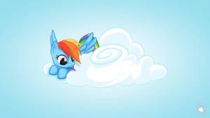 Rainbow Dash Cloud 09 by mysticalpha