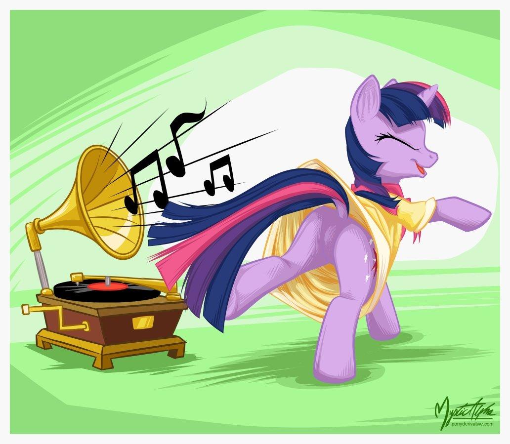 Twilight Sparkle - Dance by mysticalpha
