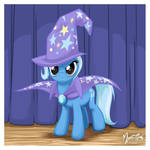 Trixie on Stage