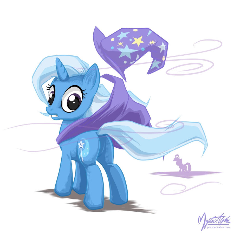 Trixie in the Wind by mysticalpha