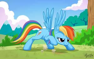 Rainbow Dash - Get Set by mysticalpha