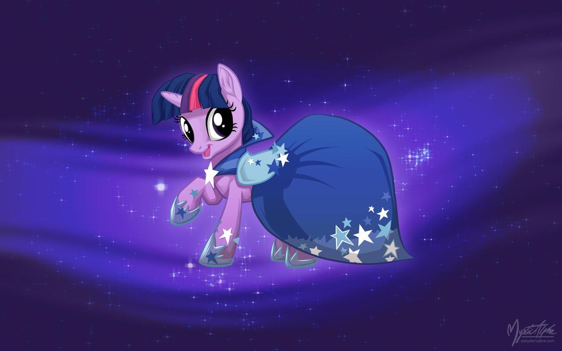 Twilight Sparkle in Gala Dress by mysticalpha